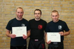 Stijn en Yannick met diploma Practitioner 1