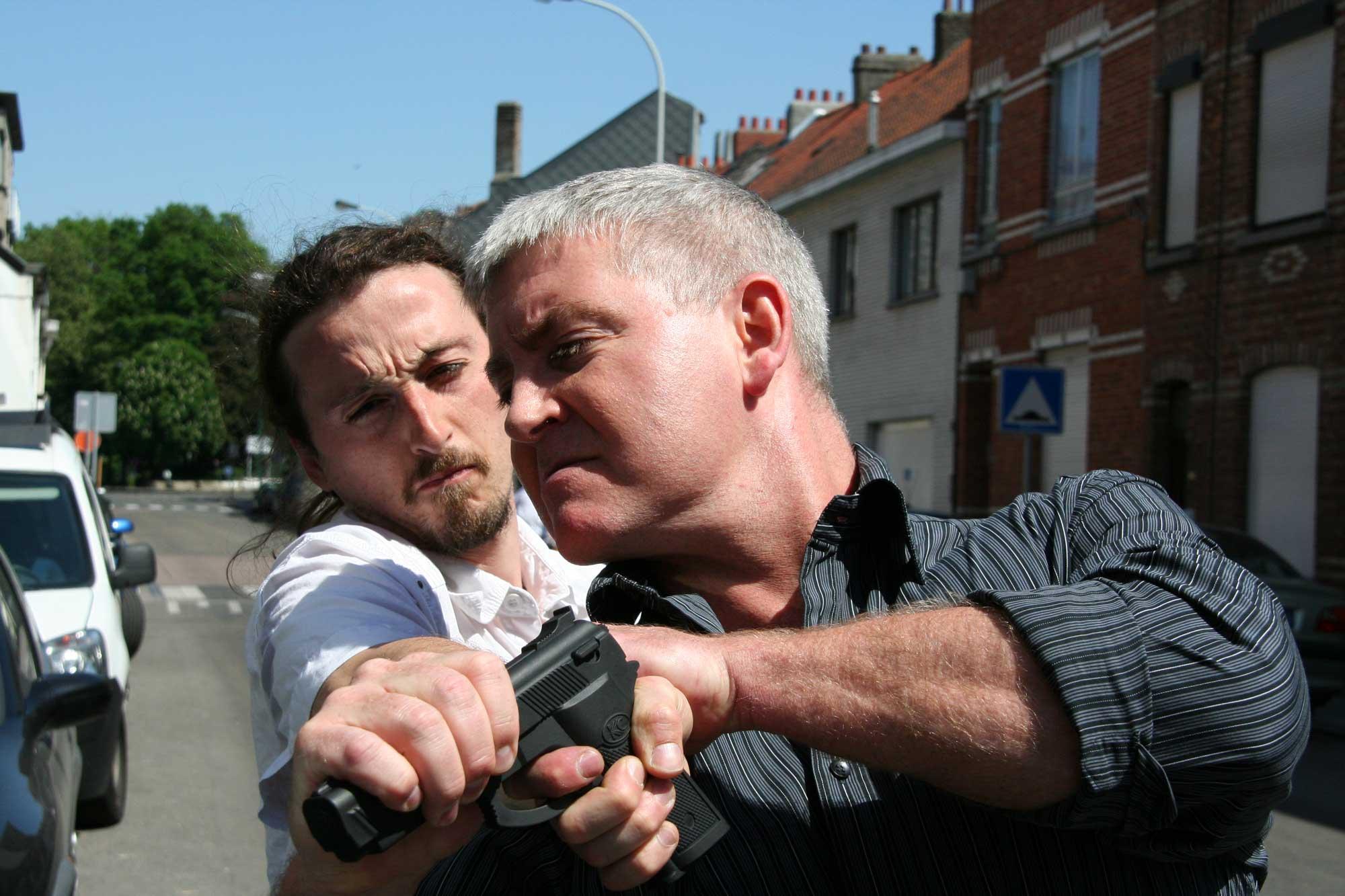 Serge and Bruno pistol disarm