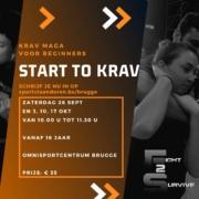Start to Krav September 2020
